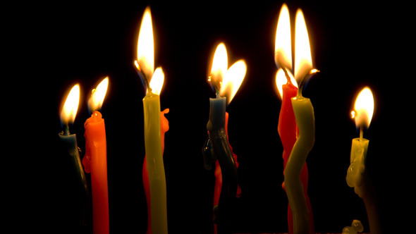 VideoHive Happy Birthday Candles 2165010