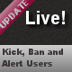 Live! Alert, Ban, Locate - CodeCanyon Item for Sale
