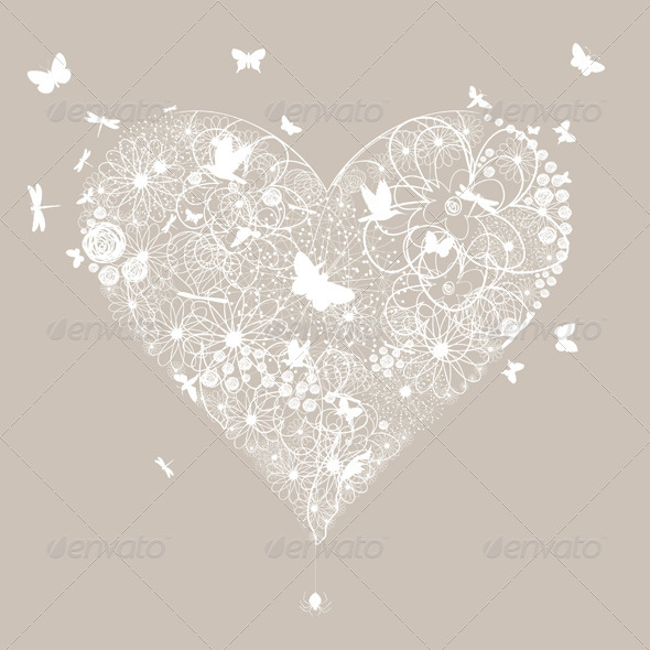 Wedding Heart 5 - Valentines Seasons/Holidays
