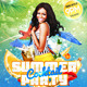 Summer Cocktail Party PSD Flyer Template - GraphicRiver Item for Sale