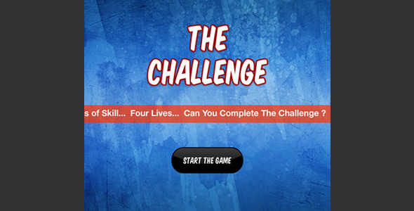 The Challenge Game - ActiveDen Item for Sale