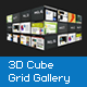 XML 3D Cube Grid Gallery - ActiveDen Item for Sale