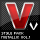Style pack (metallic) vol.1  - GraphicRiver Item for Sale