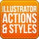 Sleek Illustrator Actions & Styles - GraphicRiver Item for Sale