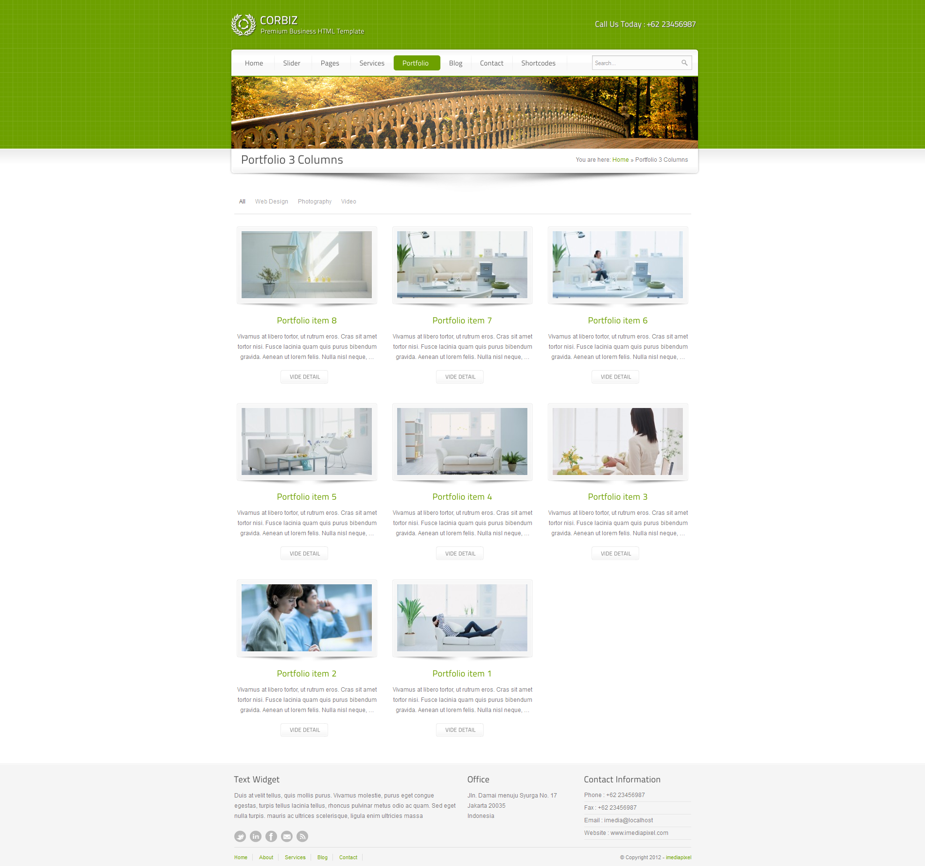 corbiz - Corporate and Business WordPress Theme