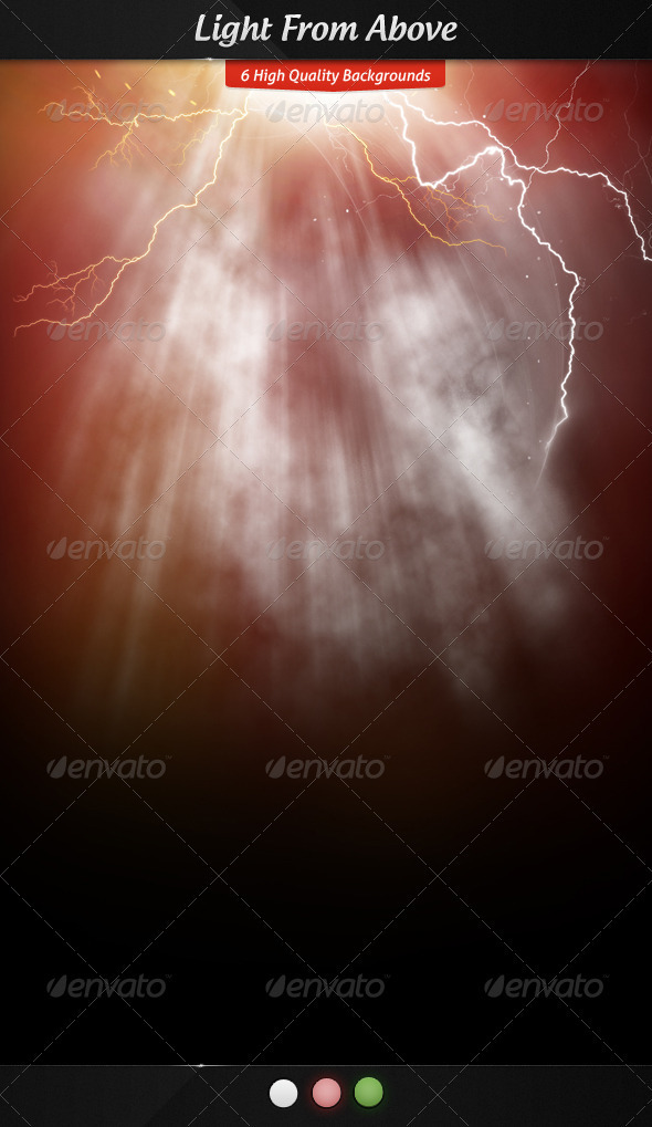 Light from Above - Backgrounds Graphics
