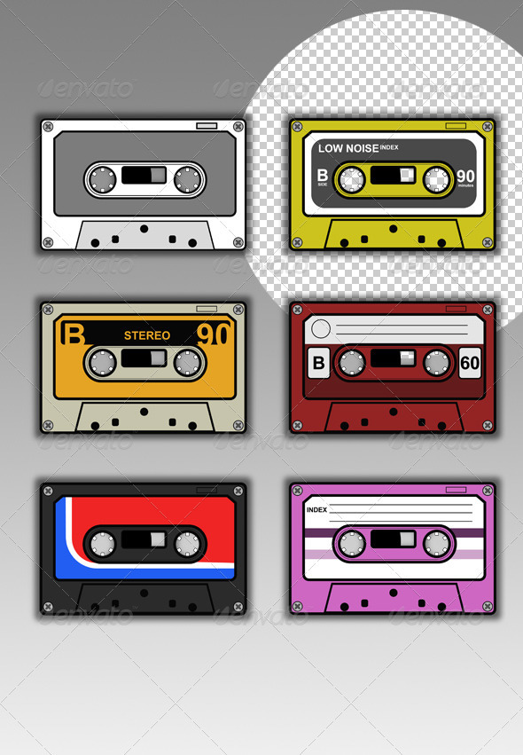 Cassette Collection - Retro Technology