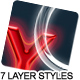 7 Text layer styles - GraphicRiver Item for Sale
