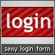 3 sexy and clean login forms - GraphicRiver Item for Sale