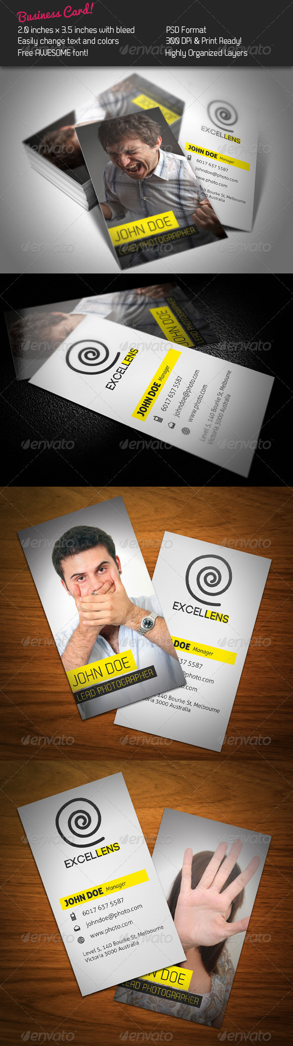 GraphicRiver Excellens Business Card 248591
