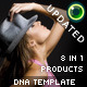 Extendable DNA Website Template - ActiveDen Item for Sale