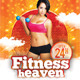 Fitness & Summer Party Multipurpose Flyer - GraphicRiver Item for Sale