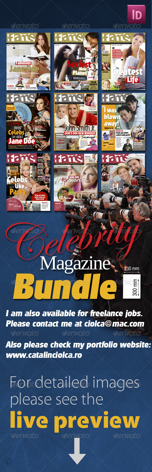 Celebrity Magazine Bundle