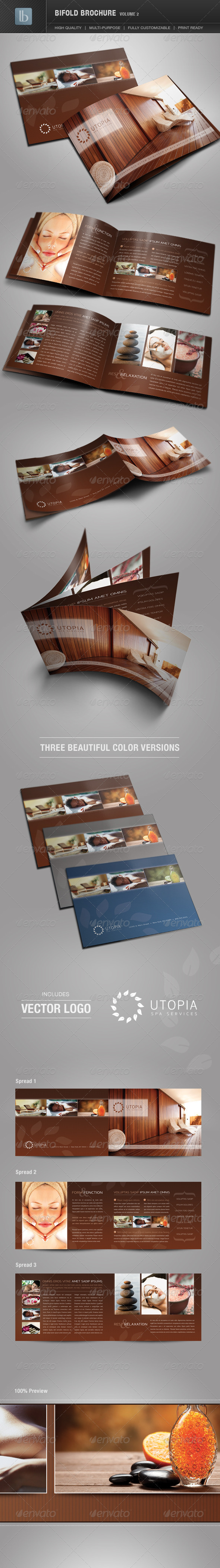 Bifold Brochure | Volume 2 - Corporate Brochures