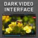 Dark Video Interface - GraphicRiver Item for Sale