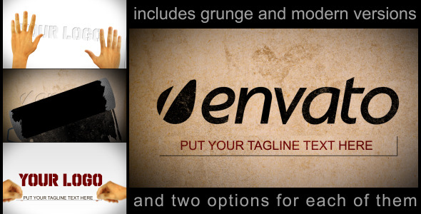 After Effects Project - VideoHive stencil logo or text reveal 249677