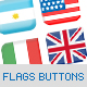90 world flag lenguage buttons pack - 3 designs - GraphicRiver Item for Sale