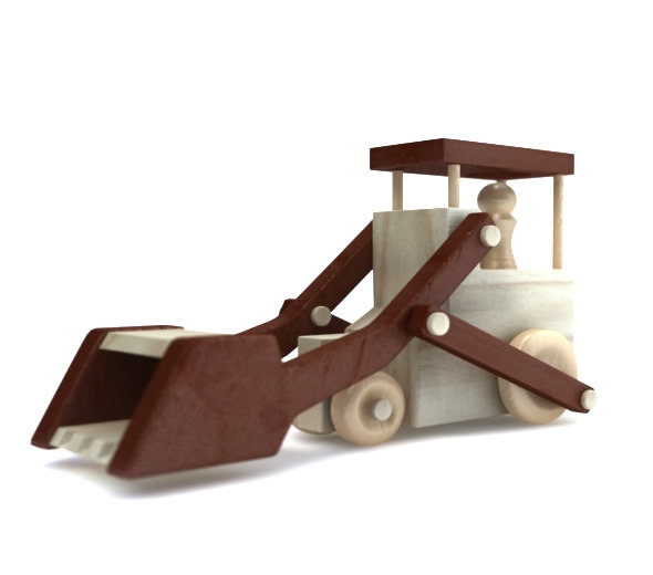 Toy Loader Truck - 3DOcean Item for Sale