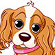 Cavalier King Charles Spaniel dog - GraphicRiver Item for Sale