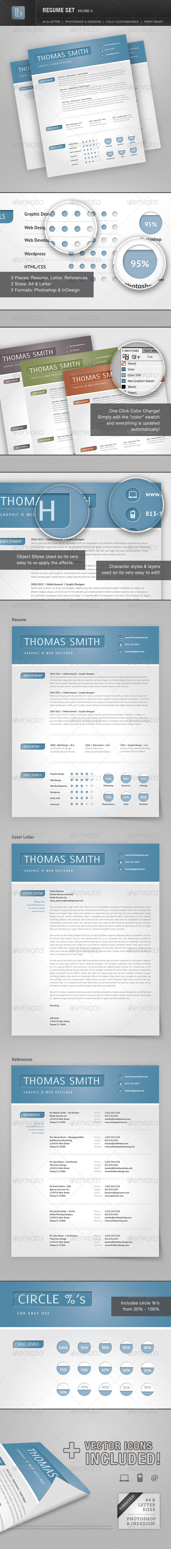 Resume Set | Volume 4 - Resumes Stationery