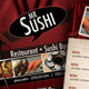 Sushi Restaurant Menu Flyer - GraphicRiver Item for Sale