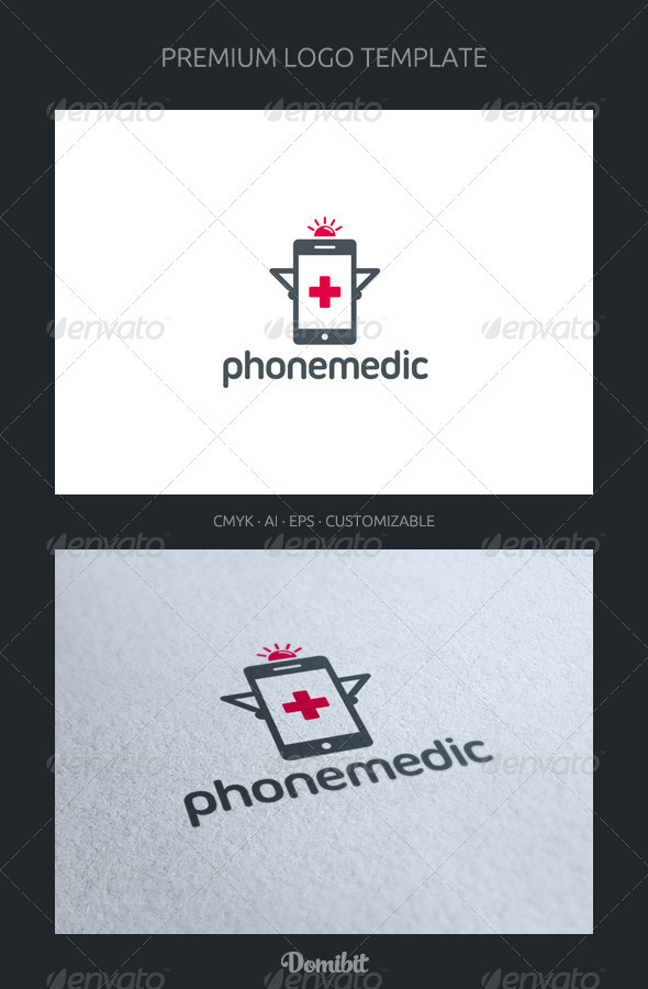 Phone Medic Logo Template - Objects Logo Templates