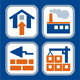 Real Estate 36 Vector Icons in 4 Colors - GraphicRiver Item for Sale