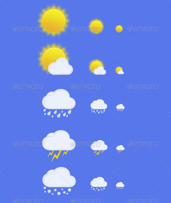 Weather Icons Pack - Web Icons