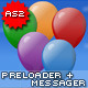 Balloon Preloader and Messager AS 2.0 - ActiveDen Item for Sale