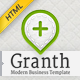 Granth - Modern Business HTML Template - ThemeForest Item for Sale