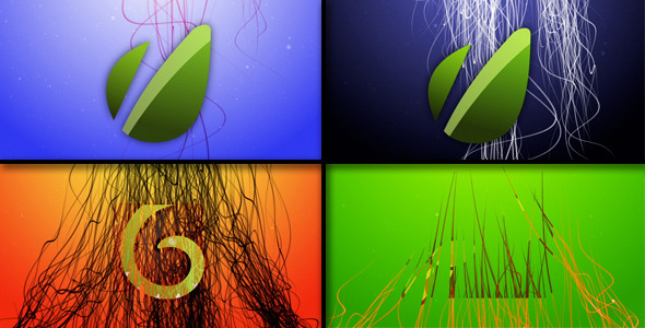 VideoHive Angel Hair Logo Reveal 2223654