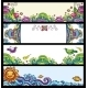 Floral Decorative Banners Series - GraphicRiver Item for Sale