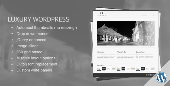 Luxury Wordpress Template