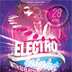 Electro Night Fever Party Flyer - GraphicRiver Item for Sale