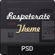 Respeterate Theme PSD - ThemeForest Item for Sale
