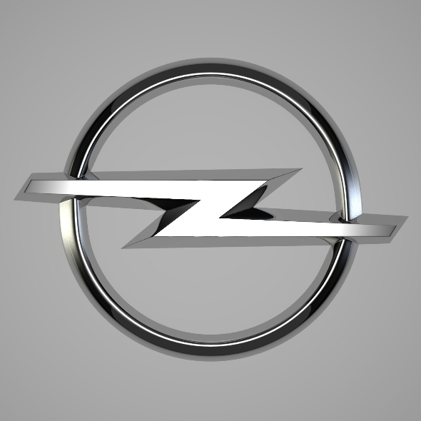 Opel Logo Transparent 3docean Opel Logo 3d Models