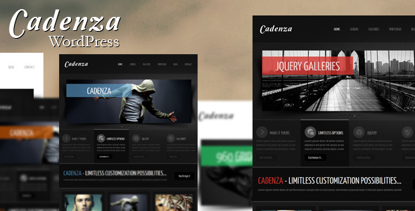Cadenza - Modern WordPress Theme
