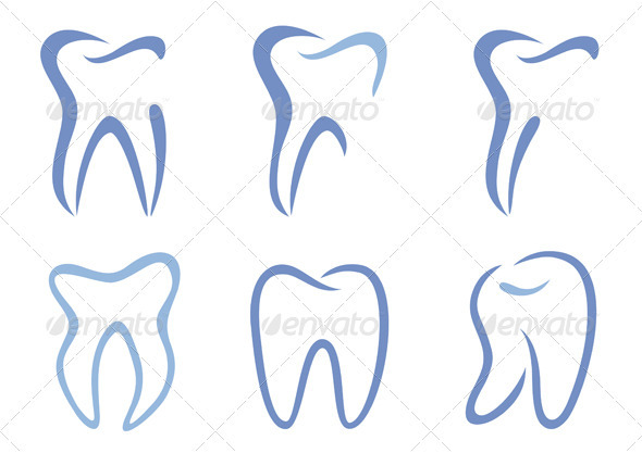 Vector Teeth - Health/Medicine Conceptual