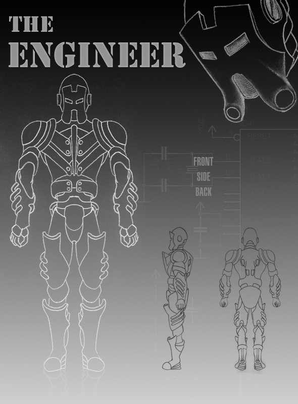 The Engineer - 3DOcean Item for Sale