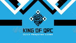 King of QR Codes Corporate Stationery Templates