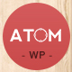 Atom - A Design Studio Full Resposive WordPress - ThemeForest Item for Sale