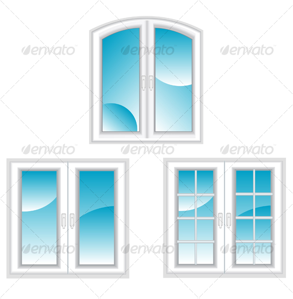 GraphicRiver Plastic polymer windows 83458