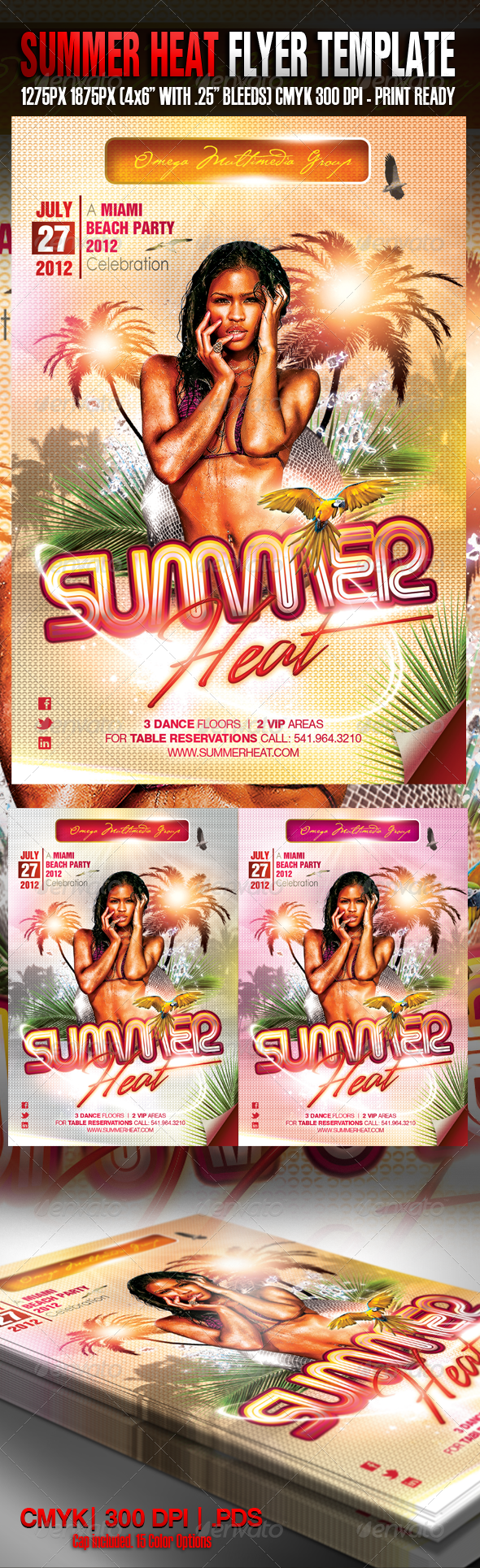 GraphicRiver Summer Heat II Party 2214543