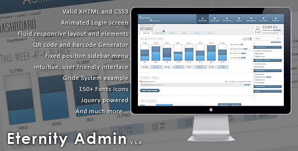 Eternity Admin Theme