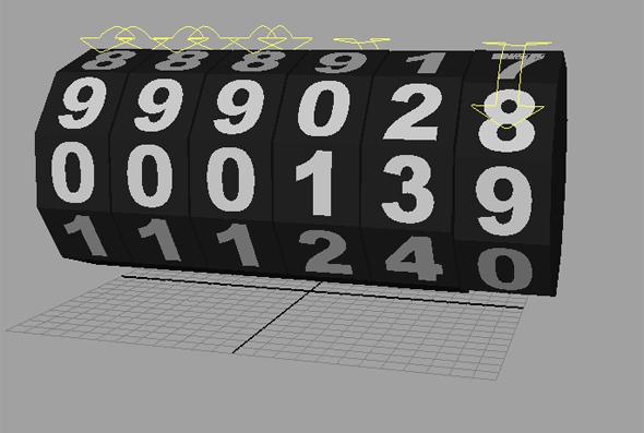 3DOcean Odometer 83571
