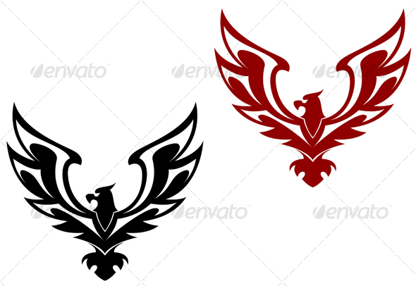 eagle symbol isolated on white for design related terms symbol eagle ...