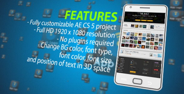 After Effects Project - VideoHive Galaxy App Promotion 2215861
