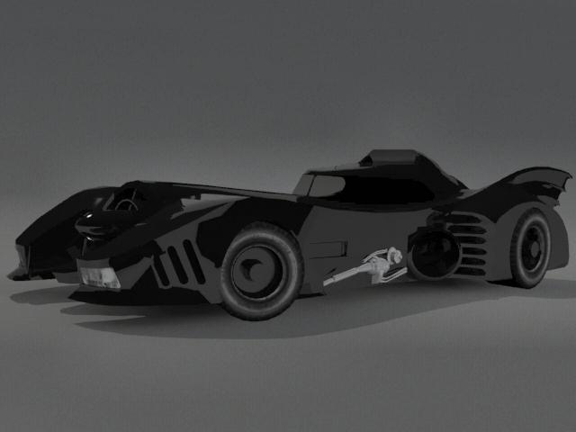 3DOcean Batmobile 2240861