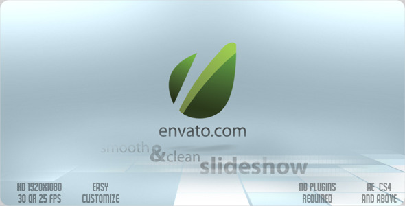 VideoHive Smooth & Clean Slideshow 2241977