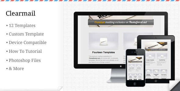 ThemeForest Clearmail 255811